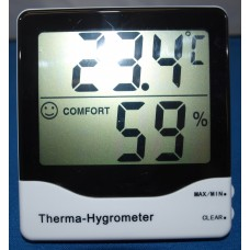 Digital Max/Min Thermometer and Hygrometer
